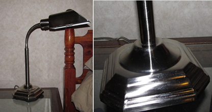 lamp and base