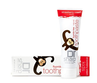 Dr Sharp Natural Toothpaste for Kids