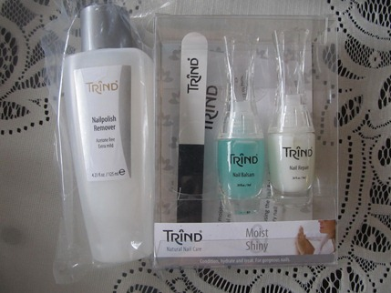Trind Most Shiny nail kit