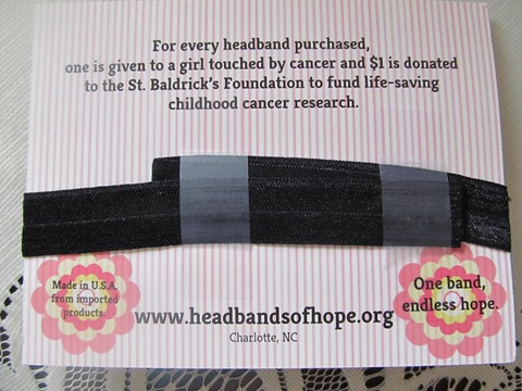 headbands for cancer