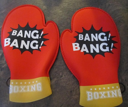 Unique Gift Ideas: Boxing Glove Oven Mitts