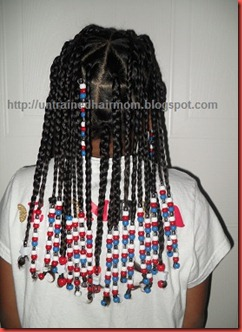 4th of July Hairstyle Idea